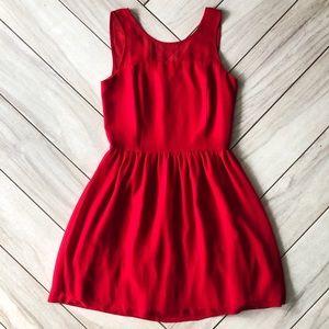 Kensie red mini dress